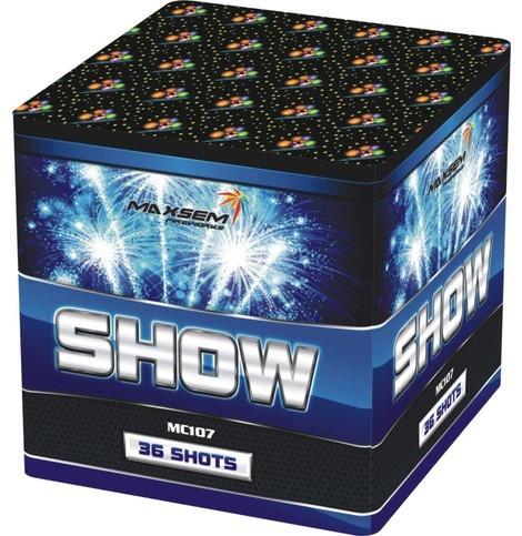 """Салют на 36 выстрелов """"Show"""". Калибр: 20 мм. Фейерверк MC 107"""