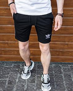 Спортивные шорты Adidas-черные