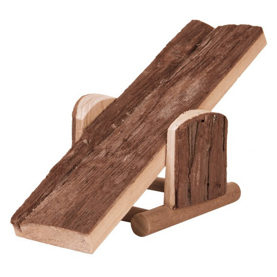 Деревянная качеля для грызунов Croci 32*7*14 см