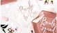 Тарелка Команда Невесты роз золото фольг 6шт, фото 3