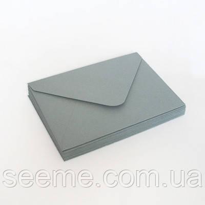 Конверт 205x140 мм, цвет пыльно-голубой (dusty blue)