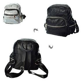 Рюкзак 806  21-19-9см, 1отд, застежка-молния,4наруж/2внутр.карман, 2цв, в кульке
