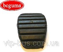 Накладка педали сцепления и тормоза (ширина 50mm) на Renault Trafic (2001-2014) BCGUMA (Украина) BC1108
