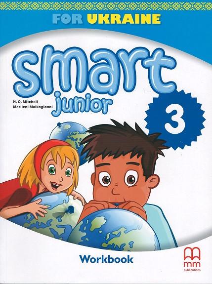 Smart Junior for Ukraine 3 Workbook НУШ (робочий зошит)