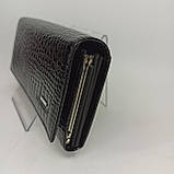 Класичний шкіряний жіночий гаманець / Классический кожаный женский кошелек Balisa C826-025 black, фото 5