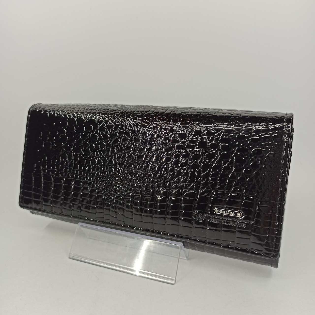 Класичний шкіряний жіночий гаманець / Классический кожаный женский кошелек Balisa C826-025 black