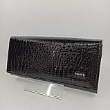 Класичний шкіряний жіночий гаманець / Классический кожаный женский кошелек Balisa C826-025 black, фото 2