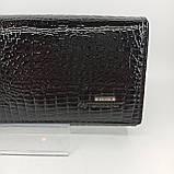Класичний шкіряний жіночий гаманець / Классический кожаный женский кошелек Balisa C826-025 black, фото 4