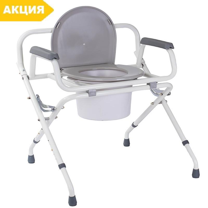 Складной усиленный стул-туалет OSD-RPM-68600, стул туалетный, горшок для взрослых, больных