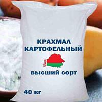 Картопляний крохмаль вищого сорту Білорусь