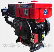 Двигун дизельний (24 к.с. / 17,65 кВт) ДД1115ВЕ (з радіатором)