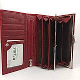 Класичний шкіряний жіночий гаманець / Классический кожаный женский кошелек Balisa B105-1013-4 red, фото 9