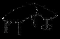 Приставной элемент Evolution МДФ 25\201(202) (720х1508х780)