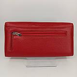 Класичний шкіряний жіночий гаманець / Классический кожаный женский кошелек Balisa B106-580-2 red, фото 7