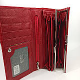 Класичний шкіряний жіночий гаманець / Классический кожаный женский кошелек Balisa B106-580-2 red, фото 6