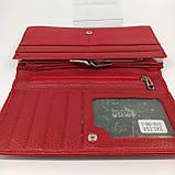 Класичний шкіряний жіночий гаманець / Классический кожаный женский кошелек Balisa B106-580-2 red, фото 8