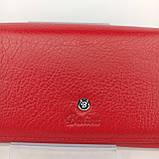 Класичний шкіряний жіночий гаманець / Классический кожаный женский кошелек Balisa B106-580-2 red, фото 4