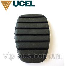Накладка педали сцепления и тормоза (ширина 50mm) на Renault Trafic (2001-2014) UCEL (Турция) 10698