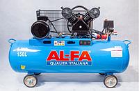 Компрессор AL-FA ALC150-2 : 3.8 кВт - 150 л