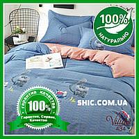 Постельное белье Вилюта (Viluta) сатин подростковое 434. Комплекты постельного белья. Постель подросток.