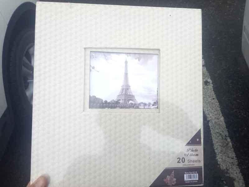 Фотоальбом самоклейка 20 листов 9218 258х280мм