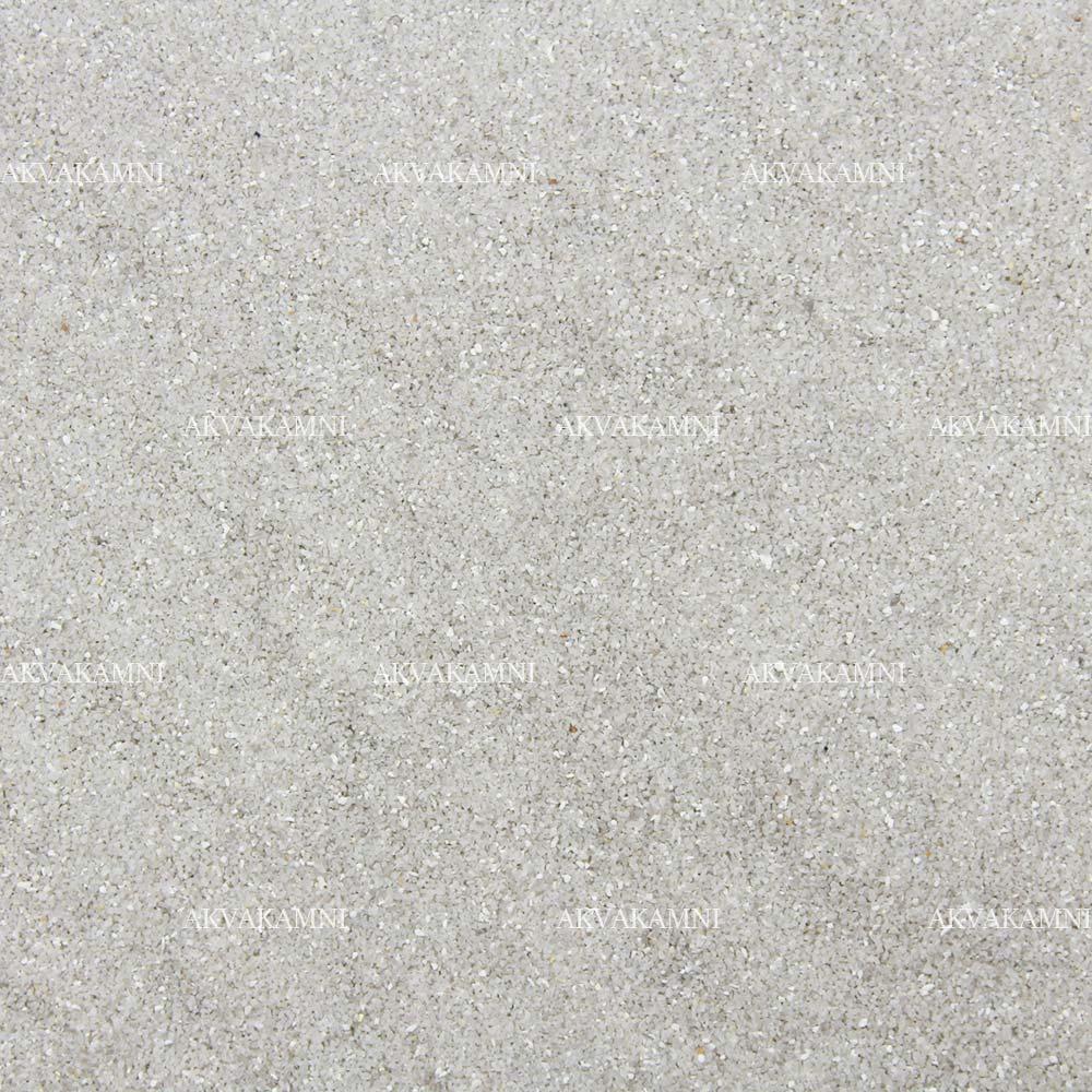 Песок кварцевый 0.4-0.8мм светлый для аквариума