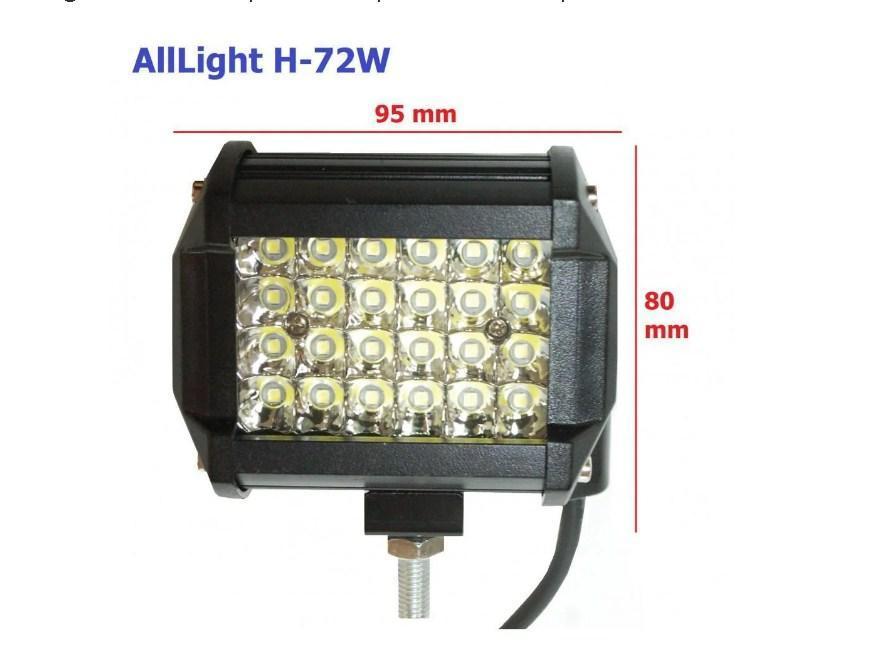Светодиодная фара AllLight H-72W