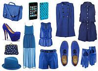 Синий цвет в одежде женщины: с чем сочетать и как носить