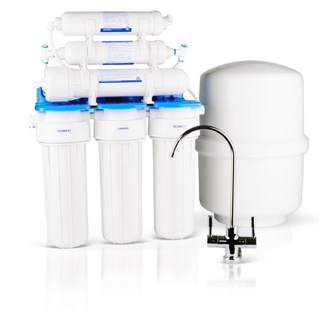 Система обратного осмоса  Aquafilter RX-RO6-75 с минерализатором