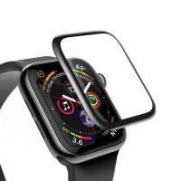 Защитное стекло Baseus 0.3mm Full Screen Curved Tempered Glass Black для Apple Watch 40mm Series 5/4