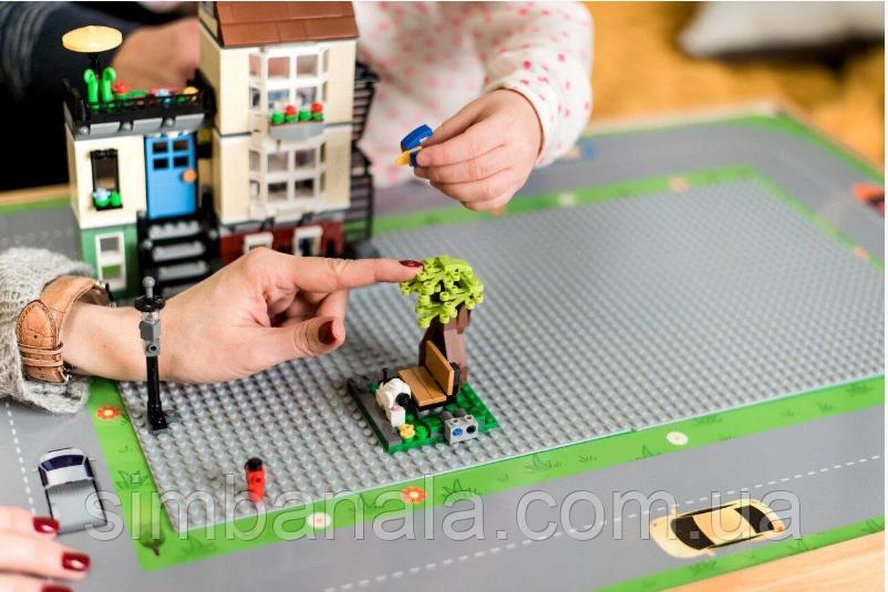 Игровое поле к столику Noofik с двумя LEGO-платформами