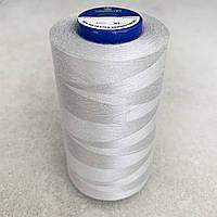 Нитки швейні 40/2 (4000Y) колір СВІТЛО-СІРИЙ