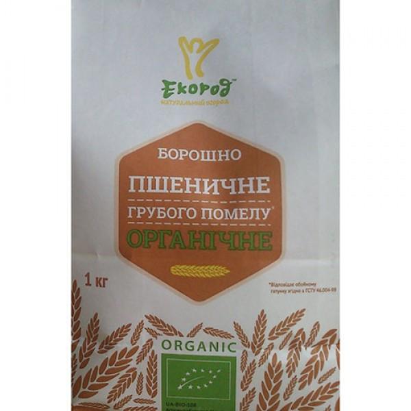 Мука пшеничная грубого помола органическая Экород 1кг