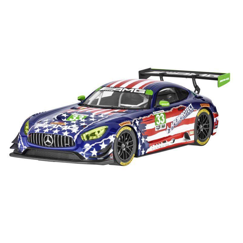 Модель Mercedes-AMG GT3 Riley Raceteam 4th July, 1:18 Scale, артикул B66960455