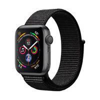 Смарт-часы Apple Watch Series 4 40mm GPS Space Gray Aluminum Case Black Sport Loop (MU672)