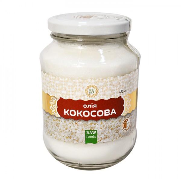 Масло кокосовое Ecoliya 450мл