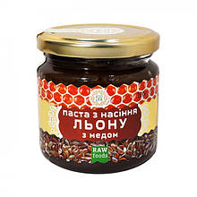 Паста из семян льна с медом Ecoliya 200г