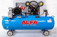 Компрессор AL-FA ALC200-2 : 5.2 кВт - 200 л.