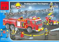 Конструктор 908 Пожарная охрана (607 деталей)