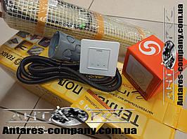 Тонкий нагревательный кабель в мате под плитку Чехия 3,6 м.кв 720 вт серия Terneo S ( Спец цена)