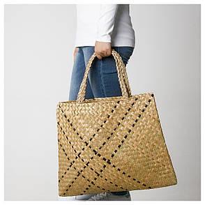 AXELSO Пляжна сумка, морські водорості, 70443358, ІКЕА, IKEA, AXELSO, фото 2