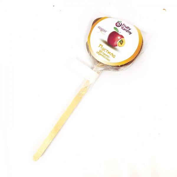 Пастила яблоко-абрикос на палочке Fruity Yummy 15г