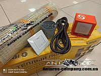 Нагревательный мат In-term (Чехия) для обогрева дома, 5,3 м2 с сенсорным регулятором Terneo S