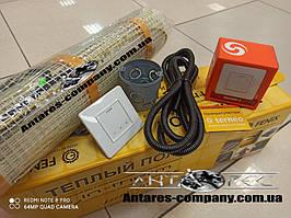 Теплый пол  Двухжильный нагревательный мат In-Term 5,3 м.кв 1080 вт  серия  Terneo S ( комплект)