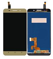 Дисплей Huawei Honor 4X (CherryPlus-L11)/Che2-L11/ Glory Play 4X + сенсор золотистый ( модуль, стекло)