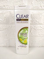 Женский шампунь против перхоти CLEAR Scalp Oil Control (уход за кожей головы), 400мл