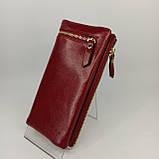 Класичний жіночий гаманець / Классический женский кошелек Balisa C3604-001 red, фото 4