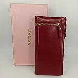 Класичний жіночий гаманець / Классический женский кошелек Balisa C3604-001 red, фото 2