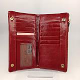 Класичний жіночий гаманець / Классический женский кошелек Balisa C3604-001 red, фото 9