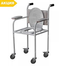 Кресло-туалет Завет  КТП, стул туалетный, горшок для взрослых, больных